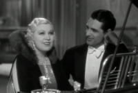 Grant with Mae West in I'm No Angel (1933)