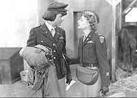 Grant dressed as a woman with Ann Sheridan in I Was a Male War Bride (1949)