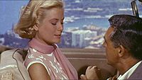 Grant with Grace Kelly in To Catch a Thief (1955)