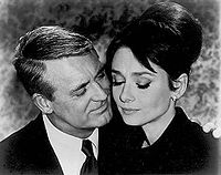 Grant with Audrey Hepburn in Charade (1963)