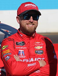 Justin Allgaier finished fourth in the championship.