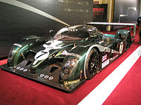 A Bentley Speed 8 as used in 2003