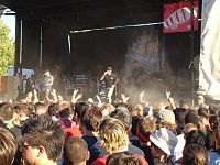 Pennywise performed on 8 of the first 16 Warped Tours.