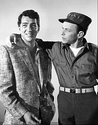 Dean Martin and Frank Sinatra appear in a number of Warner Bros. films produced in the early 1960s. Both singers also recorded for Reprise Records, which the studio purchased in 1963.