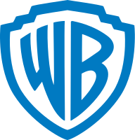 The former Warner Bros. shield logo, which was used from 1984 to 2019, extensively used in films and TV shows until 2021.