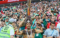 Mexico's fans at 2018 FIFA World Cup in Russia