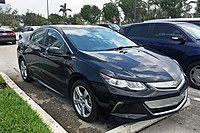 The Chevrolet Volt plug-in hybrid is the all-time top selling plug-in electric vehicle in the U.S. Volt sales in the American market passed the 100,000 milestone in July 2016.