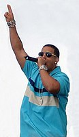 Daddy Yankee during a concert in 2006
