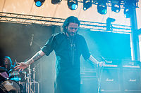 Orphaned Land on Stage in Rock Hard Festival