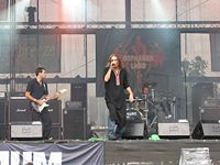 Orphaned Land is a leading performer of oriental metal.