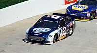 Keselowski during the 2013 STP Gas Booster 500 at Martinsville.