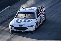Keselowski's victory lap after winning the 2017 STP 500 at Martinsville Speedway.