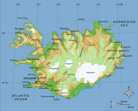 General topographic map