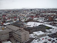 Reykjavík, Iceland's largest metropolitan area and the centre of the Capital Region which, with a population of 233,034, makes for 64% of Iceland's population. (numbers from 2020)