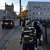 Early voting in Cleveland, Ohio