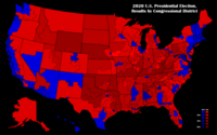 Election results by Congressional District.