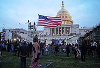 Pro-Trump rioters stormed the U.S. Capitol Building on January 6