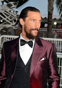 McConaughey at the 2015 Cannes Film Festival