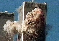 Jules Naudet filmed the impact of Flight11 as it crashed into the North Tower of the World Trade Center.