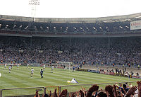 Bristol Rovers v Tranmere Rovers Leyland DAF Cup Final in 1990