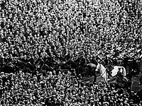 Billy the White Horse, saviour of the 1923 FA Cup Final