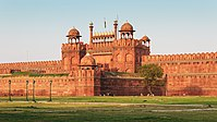 Lahori Gate of the Red Fort, Delhi, India.