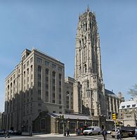 Historic Riverside Church (1930) in Upper Manhattan retains its association with ABCUSA.