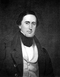 William Henry Gist, {{small|Governor of South Carolina, called the Secessionist Convention}}