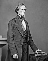 Jefferson Davis, President of the Confederacy from 1861-65