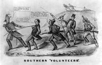 Unionists throughout the Confederate States, resisted the 1862 conscription