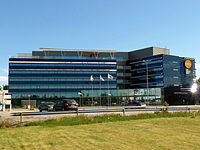 Finnair's head office, House of Travel and Transportation.