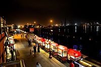 Located on the bank of Arabian Sea in Karachi, Port Grand is one of the largest food streets of Asia.<ref>https://www.tripadvisor.co.uk/Attraction_Review-g295414-d2419975-Reviews-or320-Port_Grand-Karachi_Sindh_Province.html</ref>