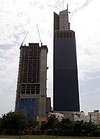 At a height of {{convert|300|m|ft}}, Bahria Icon Tower, Karachi is the tallest skyscraper in Pakistan and the second-tallest in South Asia.