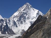 K2, the second-highest mountain on Earth