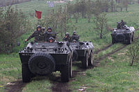 Portuguese National Deployed Force in Bosnia in 2002