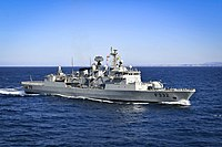 Portuguese Navy's frigate NRP Corte Real