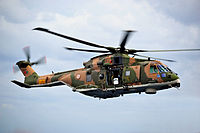 SAR operation performed by an EH101 helicopter of the Portuguese Air Force