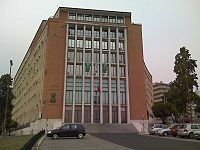 Headquarters building of the EMGFA and of the Ministry of National Defense, in Lisbon