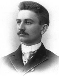 Case alumnus Herbert Henry Dow, founder of Dow Chemical.
