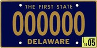 Delaware's license plate design, introduced in 1959, is the longest-running one in U.S. history.