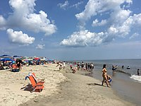 Rehoboth Beach is a popular vacation spot during the summer months.