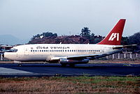 Indian Airlines Boeing 737 in 1998