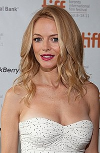As the series' ratings started to decline, the producers added Heather Graham (seen here in 2011) to the cast.