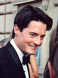 After solving the murder of Laura Palmer, Kyle MacLachlan's (pictured here in 1991) character of Dale Cooper stays in Twin Peaks to investigate further.