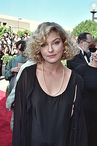 Season one of Twin Peaks focuses on the mystery of who killed Laura Palmer (played by Sheryl Lee, pictured in 1990).