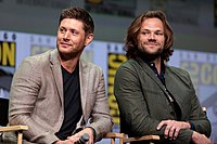 Jensen Ackles (left) and Jared Padalecki (right) portray the series' main characters.