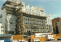 The Grand Hotel, Brighton, 1986 (restoration almost completed after bomb damage)