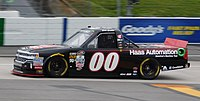 Cole Custer at Martinsville Speedway in 2016.