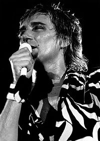 On stage in Dublin, 1981