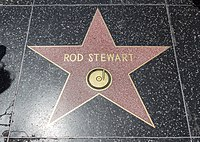 Stewart's star on the Hollywood Walk of Fame